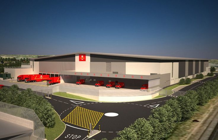 Royal Mail Distribution Centre