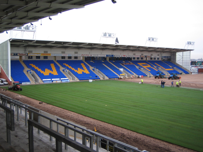 Warrington Wolves Halliwell Jones Stadium